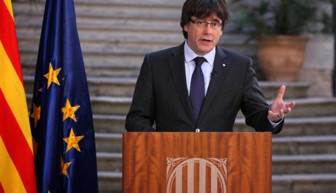 Foto: Mandat european de arestare pe numele lui Puigdemont, fostul lider secesionist din Catalonia