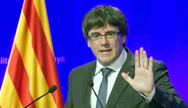 Foto: Puigdemont poate fi arestat chiar dacă dispune de imunitate parlamentară