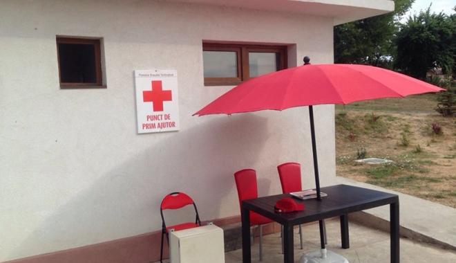 Foto: Un nou punct de prim ajutor SMURD a fost amplasat la Techirghiol
