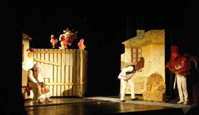 """Foto: """"Punguţa cu doi bani"""", la Teatrul de Copii din Constanţa"""