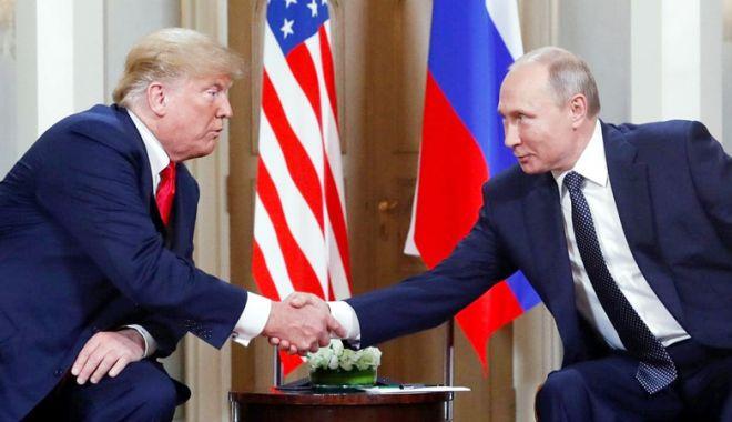 """Foto: """"Putin i-ar fi sugerat lui Trump împărţirea lumii în zone de responsabilitate"""""""