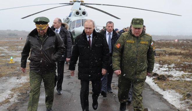 Foto: Vladimir Putin vizitează Crimeea, la 5 ani de la anexare