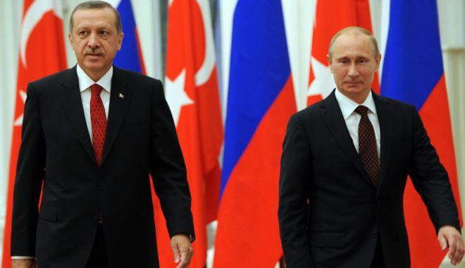 Foto: Putin, Rohani și Erdogan se vor întâlni pentru discuții privind Siria