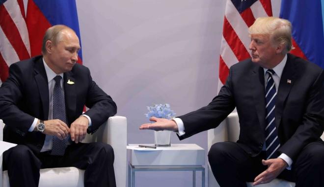 Foto: Vladimir Putin: ''Donald Trump este foarte diferit de ceea ce se vede la televizor''