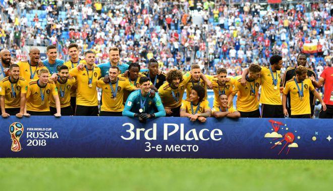 Foto: GALERIE FOTO / CM 2018. Belgia vs Anglia 2-0. Trupa lui Martinez pleacă acasă cu medaliile de bronz
