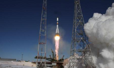 Foto: VIDEO / Rusia a lansat o capsulă de aprovizionare Progress spre ISS