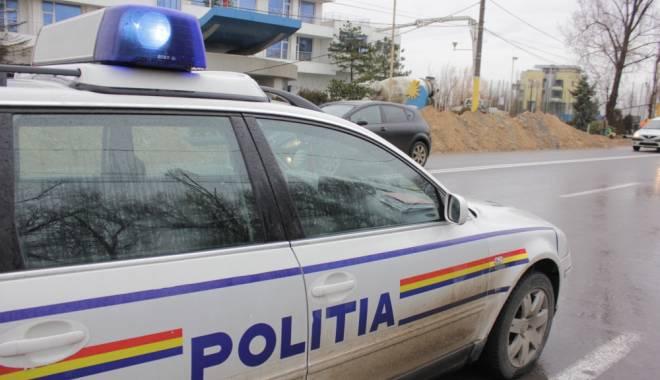 Foto: POLIŢIST din Constanţa, prins după ce a muşamalizat un accident rutier