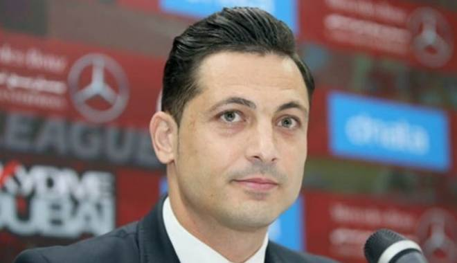 Foto: Mirel Radoi şi-a dat demisia de la Steaua în urmă cu câteva minute