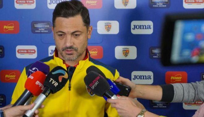 Foto: Selecționerul Mirel Rădoi: Meciul cu Ucraina este capital pentru România