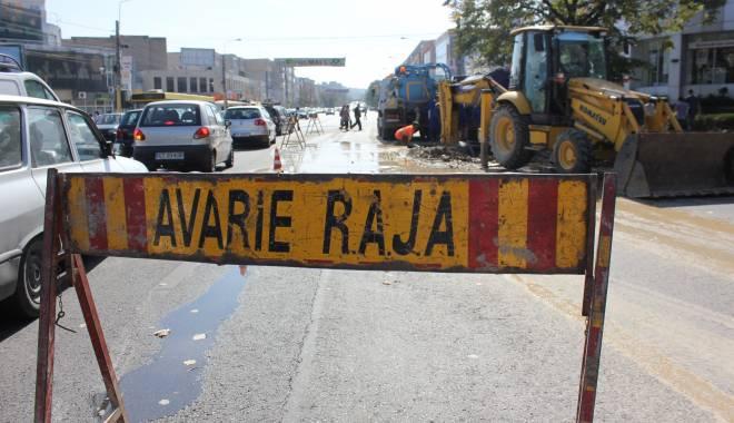 Foto: Atenție, șoferi! Trafic îngreunat pe Șoseaua Mangaliei din Constanța
