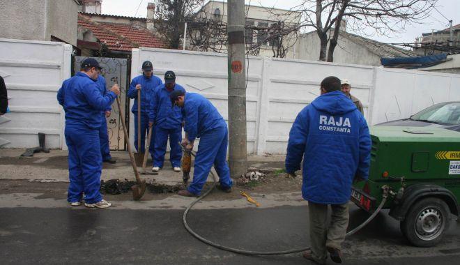 Foto: AVARIE RAJA. O parte din municipiul Medgidia a rămas fără apă