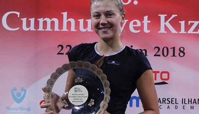 Foto: Raluca Şerban,  la al treilea titlu ITF  în acest sezon