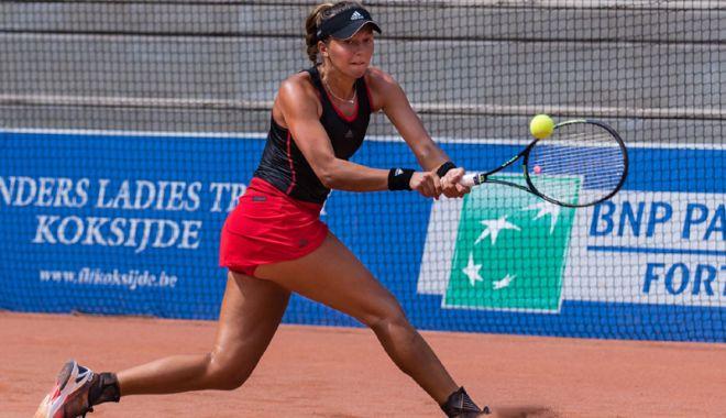 Foto: Raluca Şerban îşi pregăteşte intrarea în Top 200 WTA