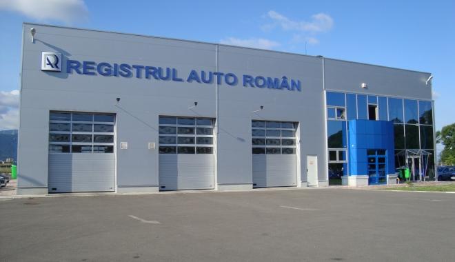Foto: Registrul Auto Român, închis în data de 23 ianuarie