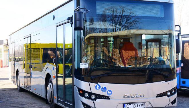 Foto: RATC suplimentează autobuzele către cartierele Palazu Mare şi Tomis Plus Constanţa