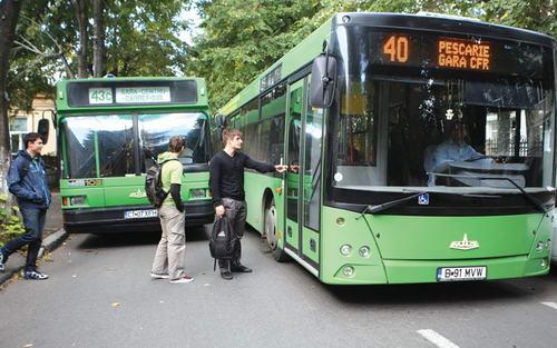 Foto: RATC. Se schimbă traseul autobuzelor 5 – 40