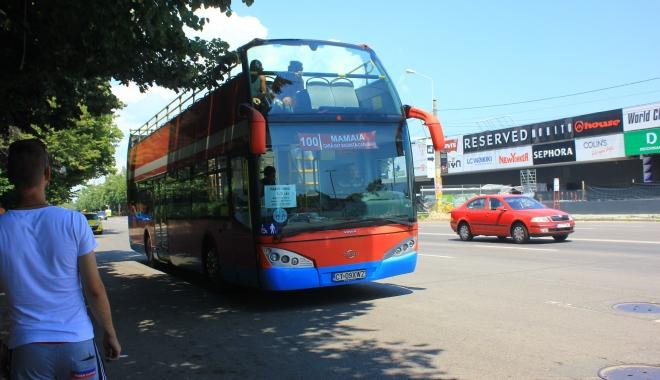 Foto: RATC. Autobuzele etajate scoase pe traseu, în minivacanţa de Rusalii