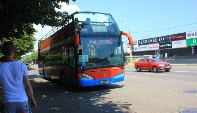 Foto: RATC. Se mută staţia de plecare pentru autobuzul 100 Mamaia