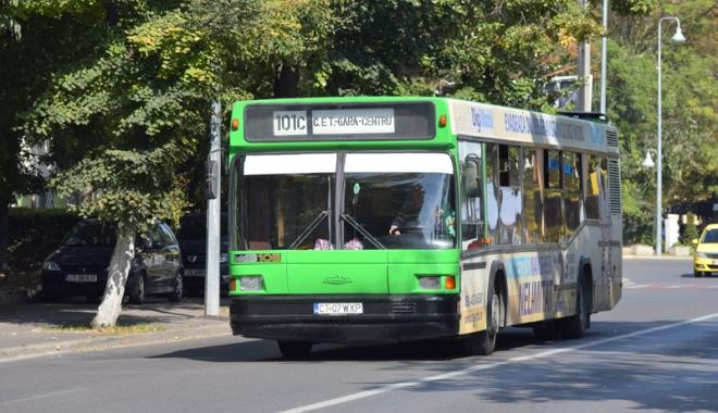 Foto: Autobuzele  de pe linia 101 C  vor coborî  până la Poarta 1