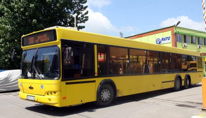 Foto: RATC. De Sfânta Maria, autobuzele RATC circulă în program de week-end