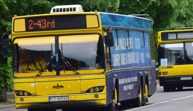 Foto: RATC reînfiinţează staţia de autobuz  de la Miga