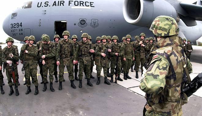 Foto: AMERICANII VIN MASIV ÎN ROMÂNIA! Trupe şi echipamente militare vor ajunge, foarte probabil, şi în baza de la Mihail Kogălniceanu