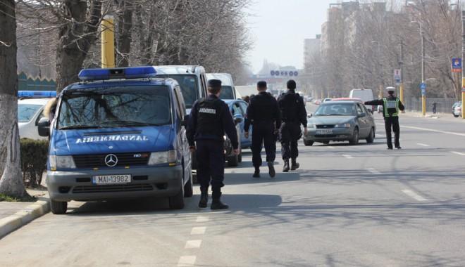 Foto: Razie de amploare în Constanţa