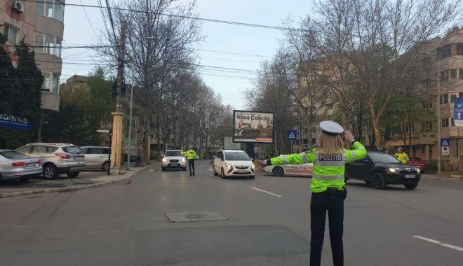 Foto: Razie de amploare, în week-end, în municipiul Constanța
