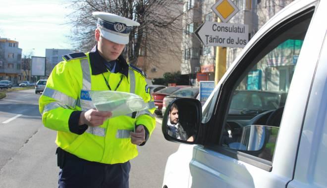Foto: Razie de amploare! Şoferi penali, prinşi pe străzile din Constanţa