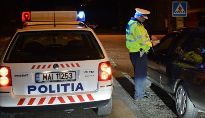Foto: Razii de amploare în tot judeţul Constanţa.  Sute de sancţiuni date de poliţişti
