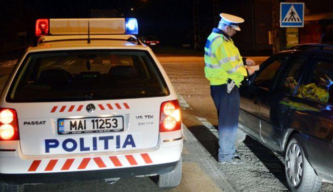 Foto: Razie a poliţiştilor în judeţul Constanţa