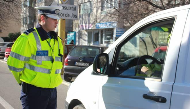 Foto: Razii de amploare pentru depistarea şoferilor băuţi, în Constanţa