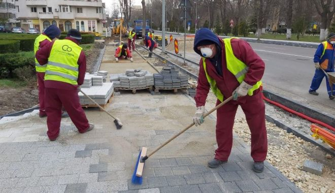 Foto: Lucrările de asfaltare continuă, în luna aprilie. Ce cartiere sunt vizate