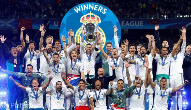 Foto: Real Madrid a detronat-o pe Manchester United şi a redevenit cel mai bogat club din lume
