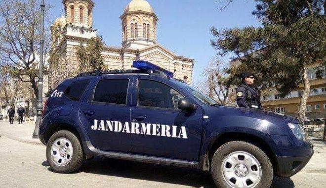 Foto: Jandarmii din Constanța, în misiune!