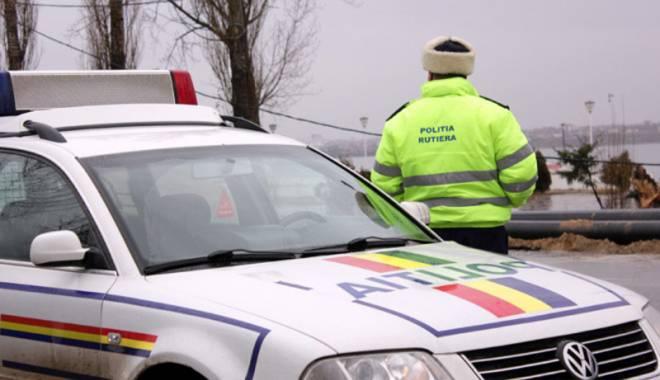 Foto: Ce îi sfătuiesc poliţiştii pe şoferii constănţeni