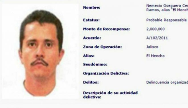 Foto: Recompensă  de 10 milioane dolari pentru prinderea  unui gangster