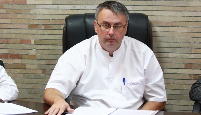 Foto: Doctorul Grasa,  numit oficial director al Spitalului Clinic Judeţean de Urgenţă Constanţa