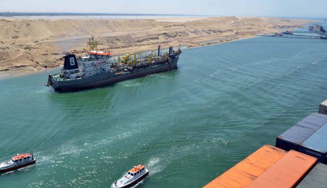 Foto: Record de încasări ale Canalului Suez