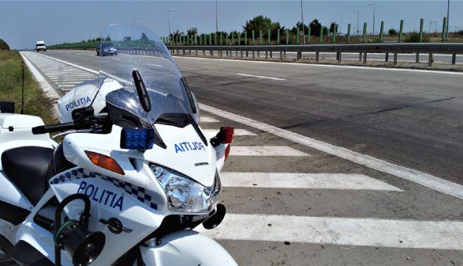 Foto: Recordul de viteză pe autostradă, deţinut de un constănţean