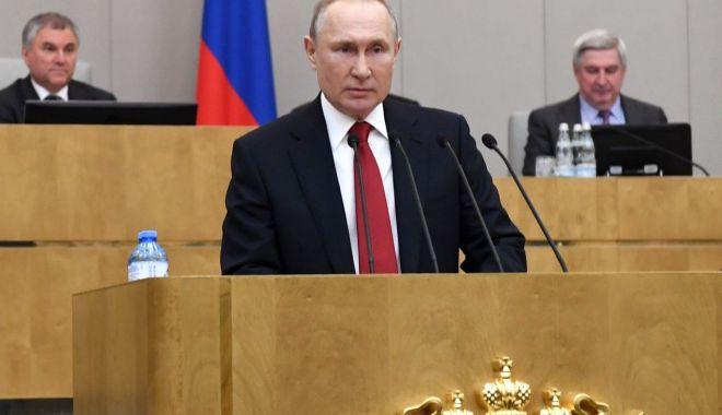 Foto: Reforma constituțională a lui Vladimir Putin, aprobată