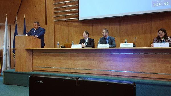 Foto: Reforma arbitrajului comercial internațional, în dezbatere la CCIR