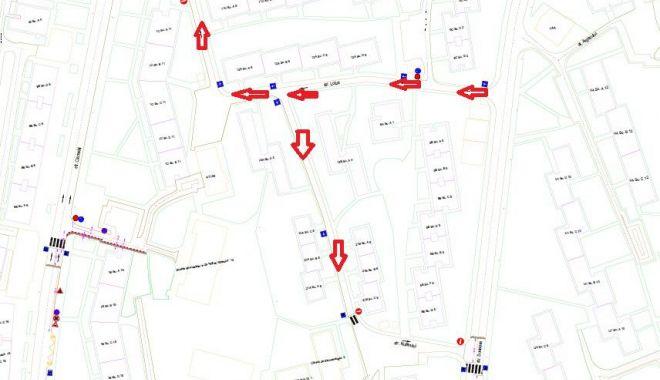 Foto: Reguli noi de circulație, în cartierul Tomis Nord
