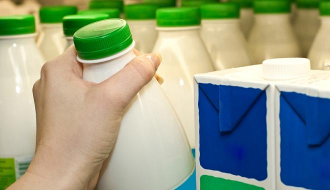 Foto: Reguli stricte pentru etichetarea laptelui