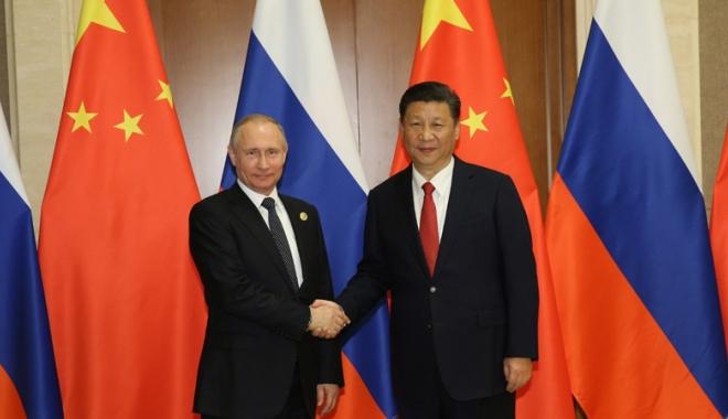 Foto: Relaţiile chino-ruse sunt la cel mai bun nivel