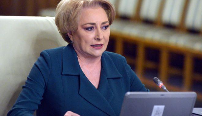 Foto: Prim-ministrul Viorica Dăncilă infirmă o eventuală remaniere guvernamentală