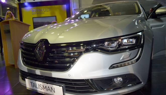 Foto: Renault şi-a lansat Talismanul la Constanţa