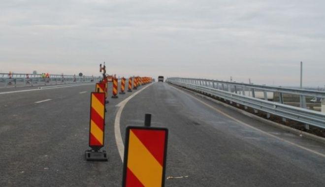 Foto: ŞOFERI, ATENŢIE! Lucrări de reparaţii pe Autostrada A2 Bucureşti-Constanţa, luni, până la ora 19.00