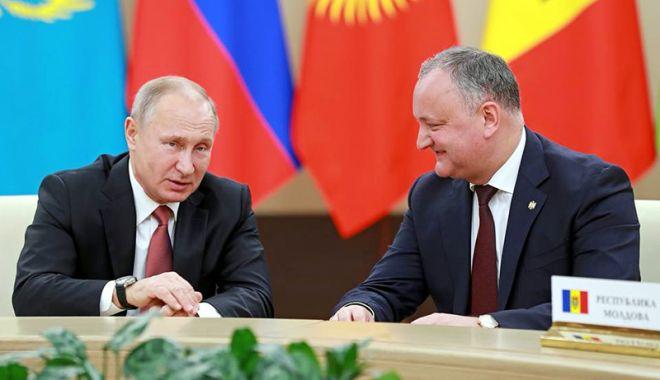 Foto: Republica Moldova, statut de observator al Uniunii Economice Eurasiatice