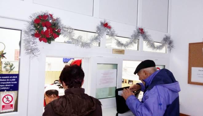 Foto: Restanţierii la taxe  şi impozite, aşteptaţi la Primăria Cernavodă